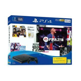 Sony PlayStation 4 Slim 500GB + FIFA 21 + FUT21 VCH